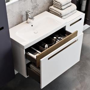Meble łazienkowe z kolekcji SENSO, marka Defra, fot. Defra