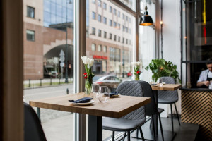 Jak urządzić stylizowaną restaurację - najnowszy projekt pracowni The Space