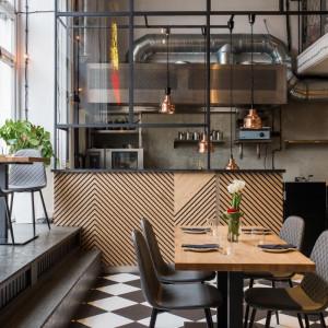 Restauracja Gruby Josek. Projekt: The Space. Fot. Piotr Czaja