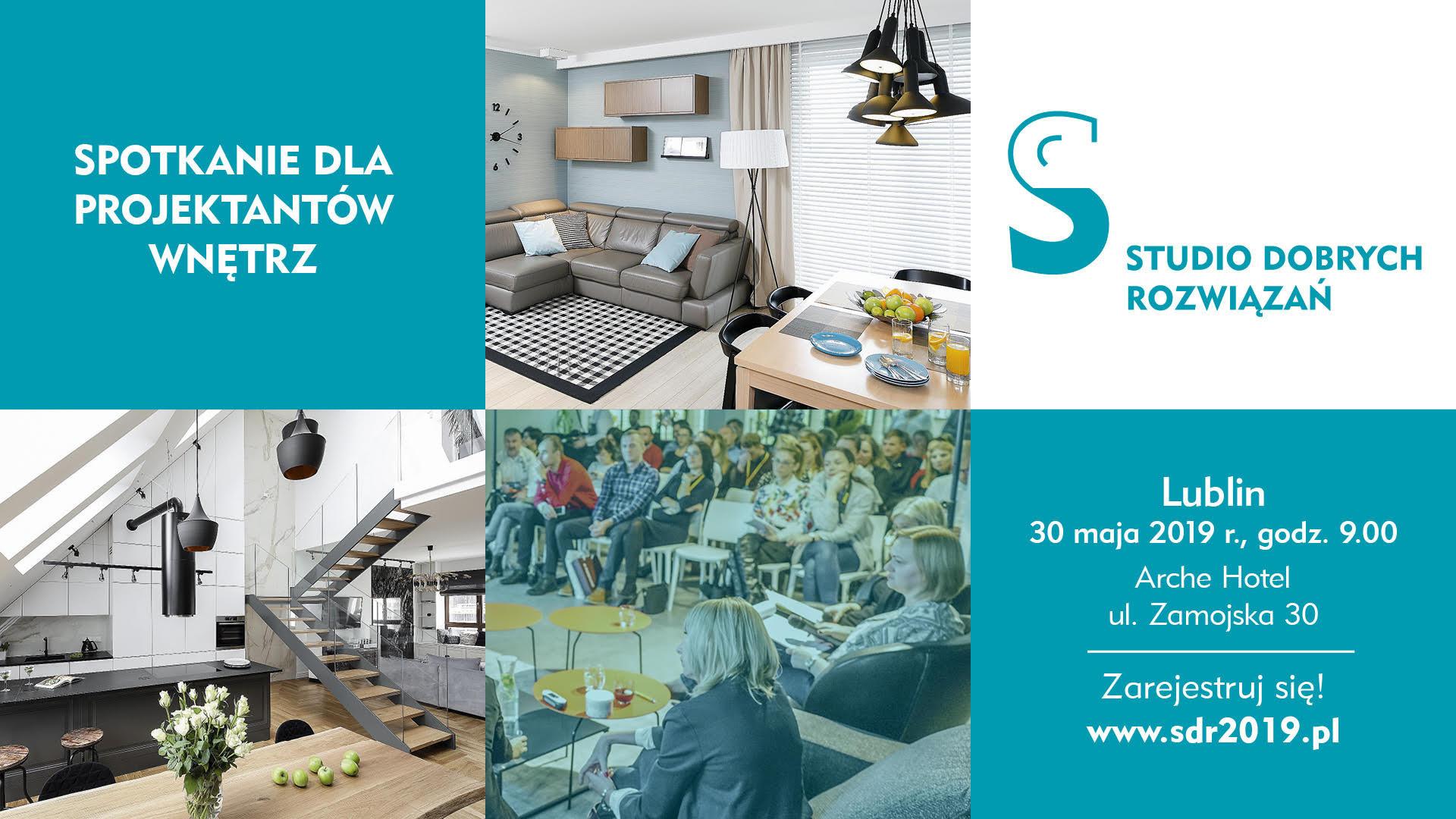 Studio Dobrych Rozwiązań w Lublinie - zapraszamy 30 maja!