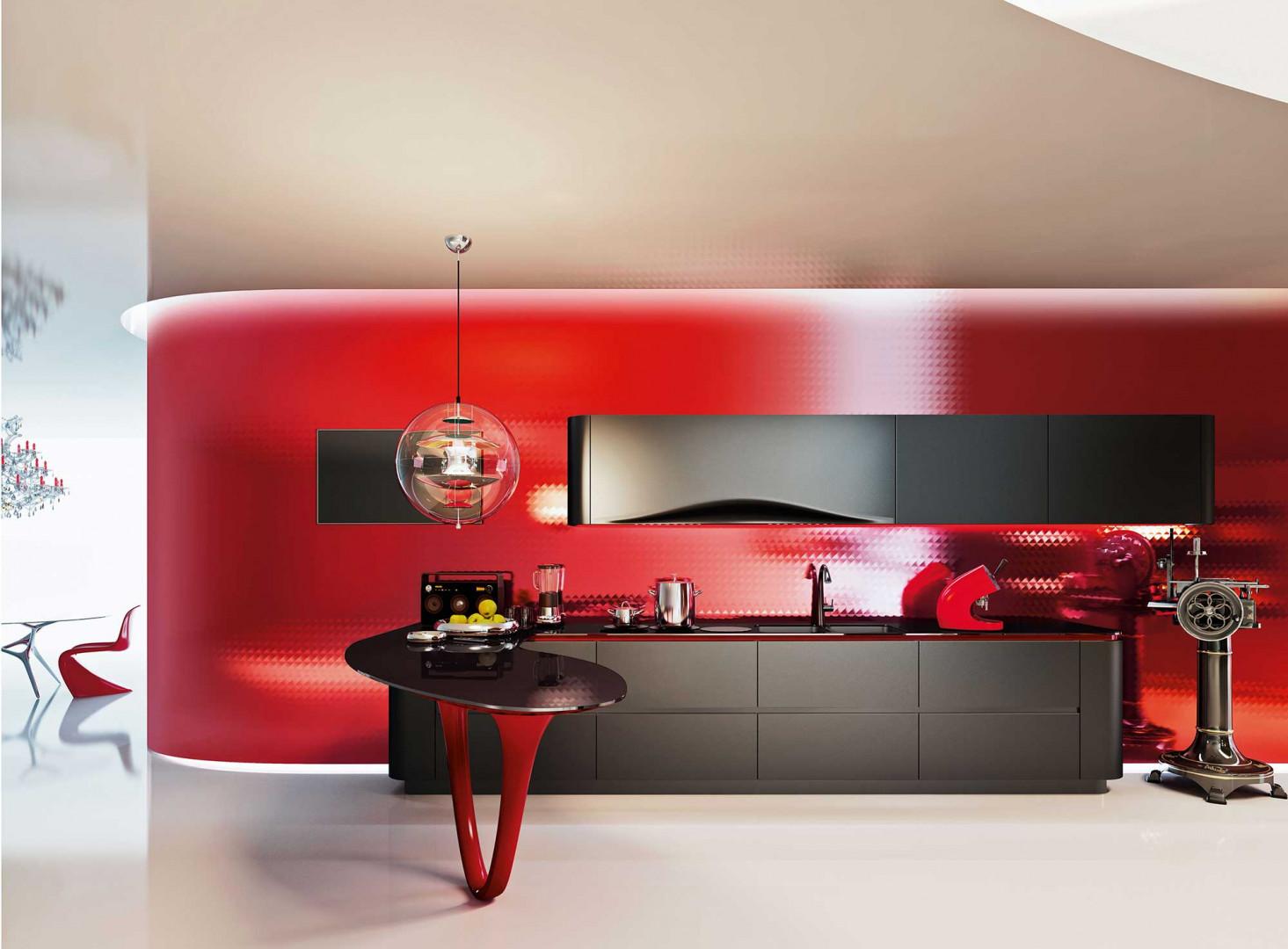 "Kuchnia ""Ola 25"" firmy Snaidero. Projekt: Pininfarina Design. Fot. Snaidero"