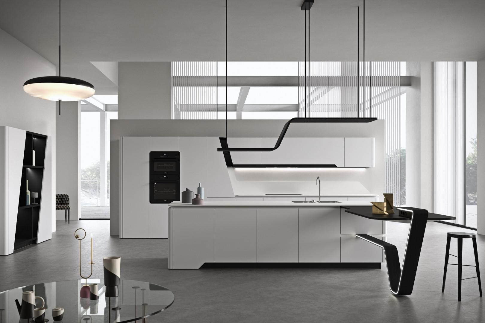 "Kuchnia ""Vision"" firmy Snaidero. Projekt: Pininfarina Design. Fot. Snaidero"