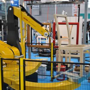 Robot MRK 5.1 włoskiej marki Epistolio prezentowany podczas targów
