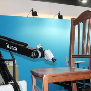 Robot lakierniczy włoskiej firmy Lesta. Fot. Mariusz Golak