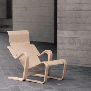 Fotel zaprojektowany przez Marcela Breuera w 1937 roku. Producent: Isokon. Fot. Isokon