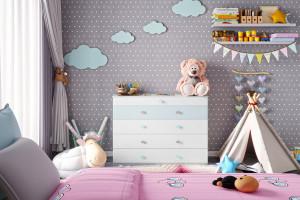 Pomysł na bajkową przestrzeń dla dziecka - wybierz kolorowe uchwyty i gałki do mebli!