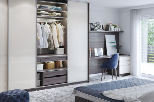 Meble do sypialni - pomysły na miejsce do przechowywania