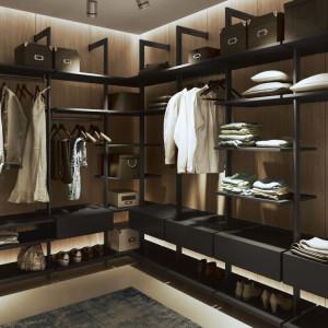 Organizacja garderoby z miejscem na obuwie. Fot. Komandor