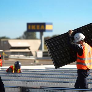 IKEA wspiera wykorzystanie odnawialnych źródeł energii. Fot. IKEA