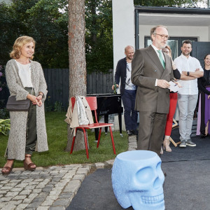 Ambasador Holandii w Polsce Ron J.P.M. van Dartel oraz Joanna Markus z BM Housing