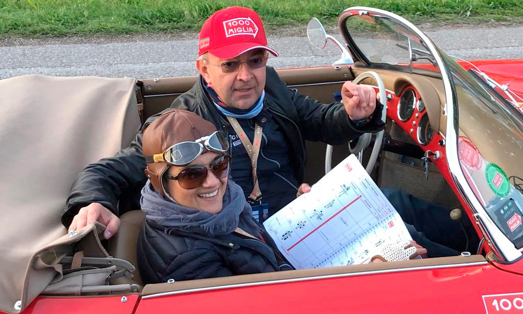Maria Lasek i Jerzy Krzanowski z Grupy Nowy Styl - w włoskim wyścigu