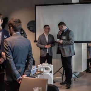 Spotkanie BNI w salonie BoConcept w Warszawie