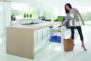 Miejsca do przechowywania w kuchni - pomysły do małych i dużych wnętrz