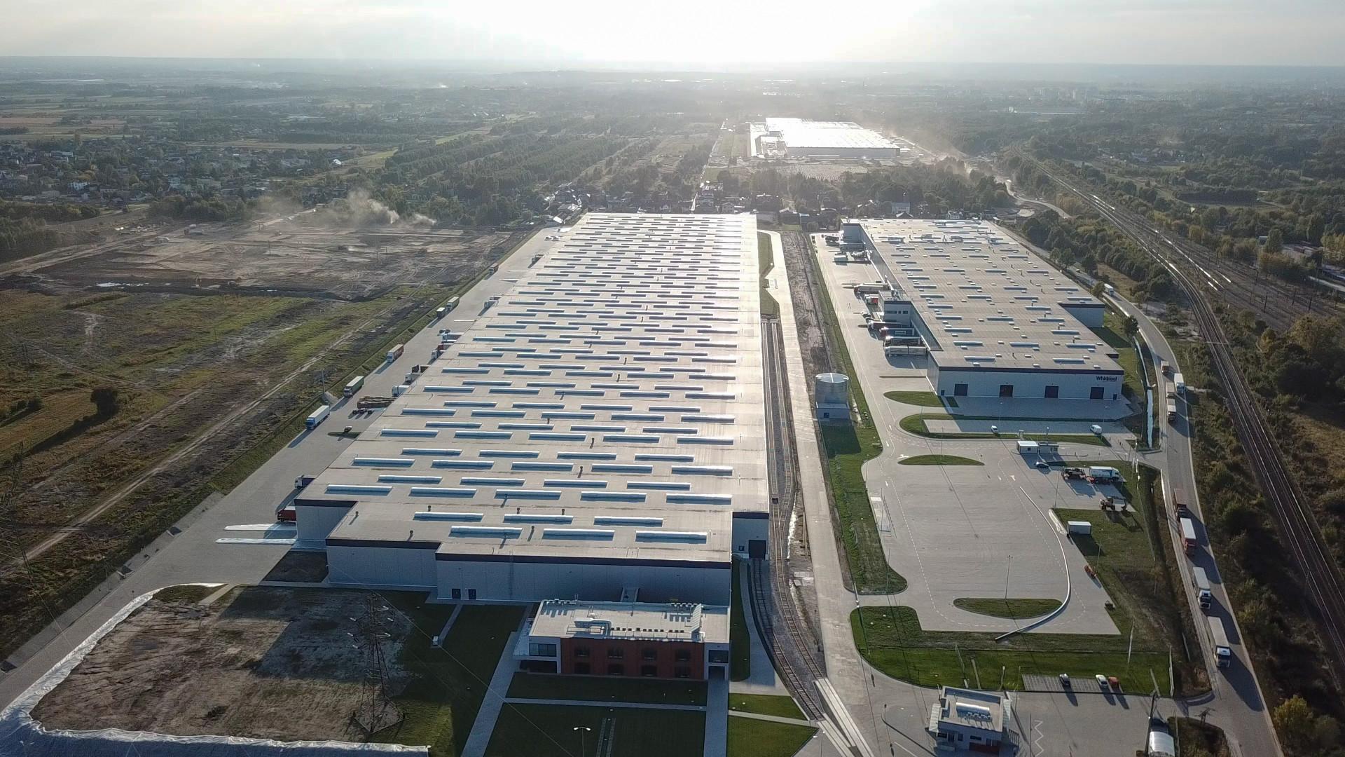 W 2018 roku Bosch zainwestował w Polsce ponad 660 mln złotych (156 mln euro). Na zdjęciu: centrum logistyczne firmy BSH w Łodzi. Fot. Bosch