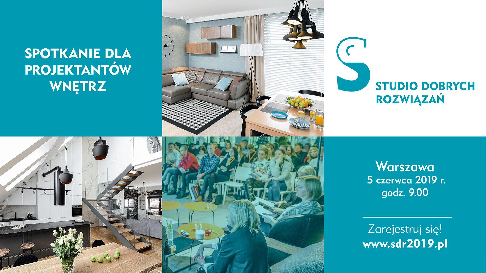 Studio Dobrych Rozwiązań w Warszawie - 5 czerwca 2019.