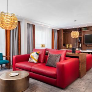 Apartament Prezydencki (salon). Projekt: Didier Gomez. Fot. Sofitel Warsaw Victoria
