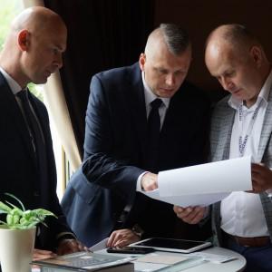 Targi wewnętrzne firmy Meble Puszman. Fot. Mariusz Golak