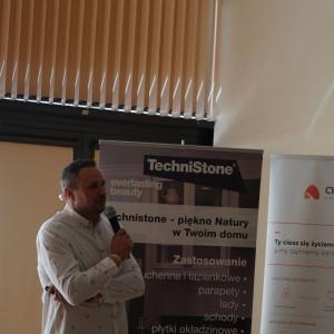 Krzysztof Piotrowski, dyrektor TechniStone Poland
