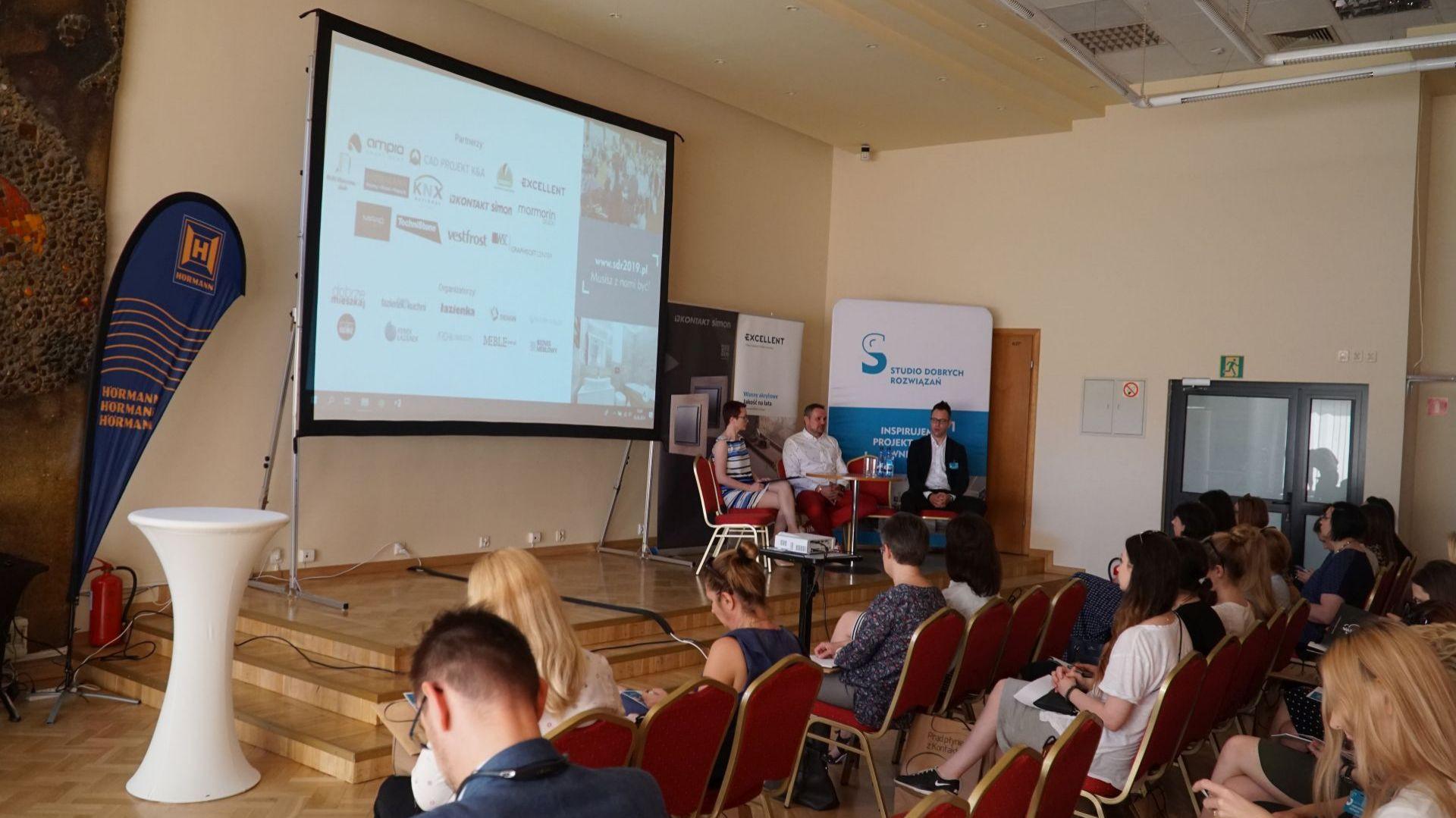 Kuchnia - trendy 2019, dyskusja podsumowująca z udziałem przedstawicieli firm TechniStone i Vestel Poland