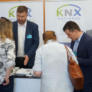 Stoisko Stowarzyszenia KNX Poland