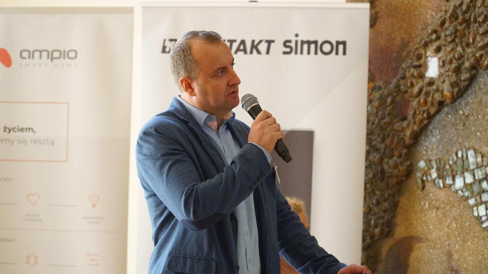 Sebastian Szwajkowski, koordynator sprzedaży drzwi Hörmann Polska