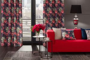 10 efektownych czerwonych sof i narożników - wprowadź gorący kolor do salonu!