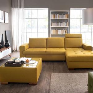 Firma Wajnert Meble zajęła III miejsce w Rankingu Producentów Mebli Tapicerowanych 2019. Na zdjęciu: sofa