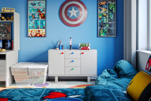Uchwyty do mebli dziecięcych - jak stworzyć bajkową przestrzeń