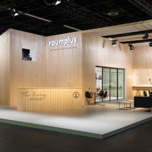 Ekspozycja firmy Raumplus, która została uhonorowana German Brand Award. Fot. Raumplus