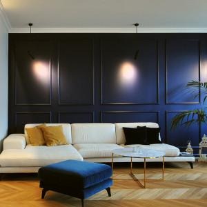Sofa Enjoy marki Inspirium. Projekt wnętrza Piotr Stolarek