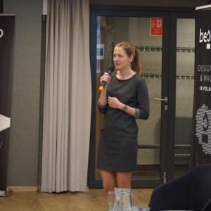 Natalia Kuraś, przedstawicielka marki Villeroy &Boch, partnera głównego wydarzenia