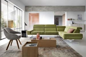 Zielone sofy - propozycje dla szukających oryginalnych mebli