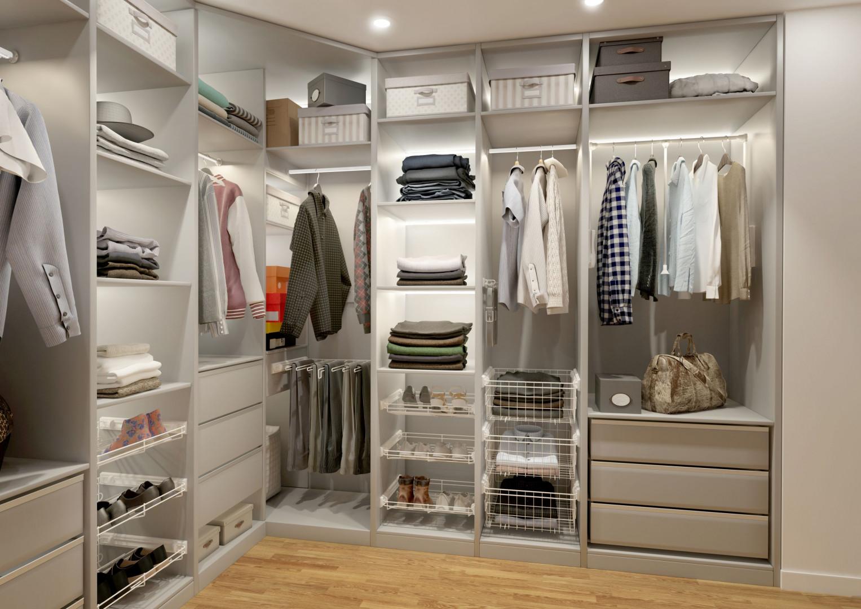 Garderoba Smart biała. Fot. GTV