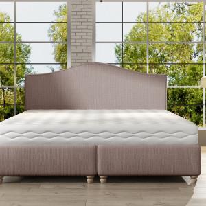 Łóżko tapicerowane Clara marki Comforteo