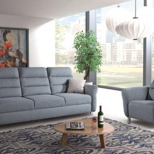 Firma PMW zajęła II miejsce w Rankingu Producentów Mebli Tapicerowanych 2019. Na zdjęciu: sofa