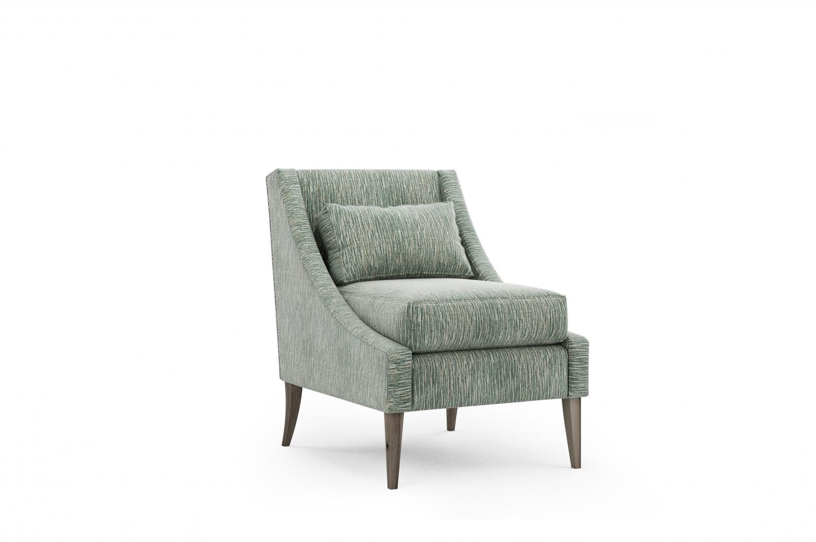 Fotel wykończony tkaniną z kolekcji Sara. Fot. Pik Collection