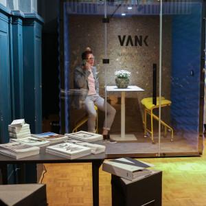 Berlińska premiera nowego boksu akustycznego firmy Vank. Fot Natalia Sochacka