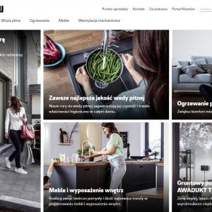 Nowa strona internetowa firmy Rehau Polska