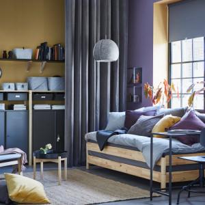 Skandynawskie wnętrze ma być przede wszystkim funkcjonalne i na luzie. Fot. IKEA