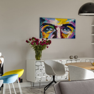 Apartament projektu Aleksandry Kurowskiej (stół Tomka Rygalika)