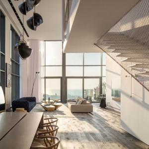 Apartament w Tel Awiwie. Fot. Mat. Forestile
