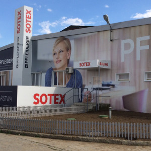 Salon firmy Sotex (Wrocław), jednego z partnerów handlowych Pfleiderer. Fot. Pfleiderer