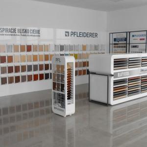 Salon firmy Okleina (Łomża), jednego z partnerów handlowych Pfleiderer. Fot. Pfleiderer