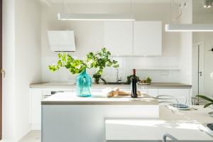 Biel we wnętrzach - zobacz przykłady stylowych realizacji
