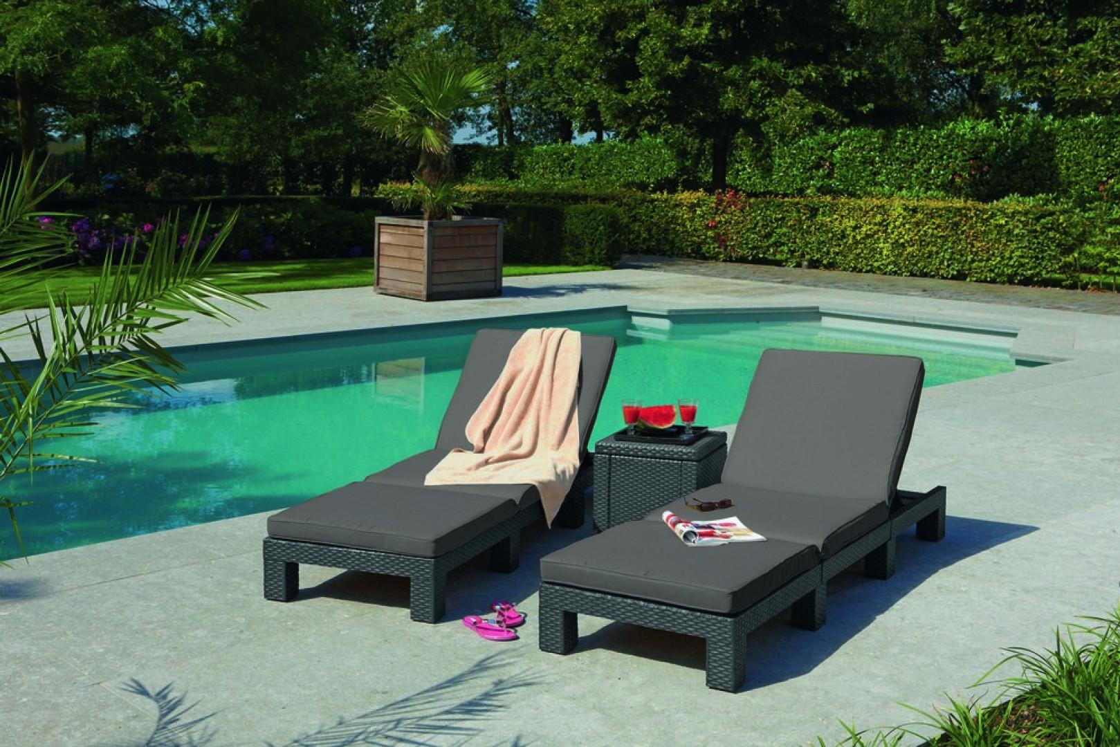 Leżak ogrodowy Daytona marki Keter. Fot. Keter