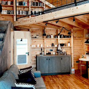 Bookworm Cabin. Fot. Materiały prasowe