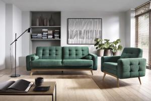 Sofa i fotel - zobacz 20 funkcjonalnych zestawów z polskich sklepów!