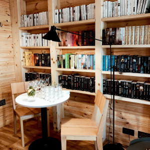 Bookworm Cabin. Fot. Ernest Wińczyk