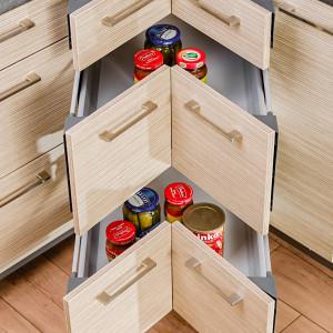 KAMplus szuflady narożne. Fot. KAM Kuchnie