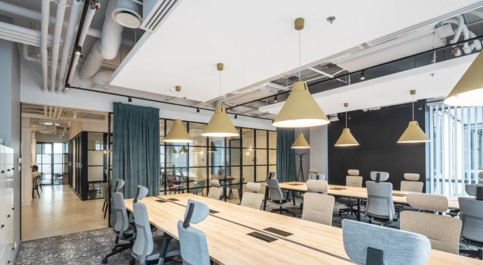 Kreatywne biuro coworkingowe - zobacz pomysłową realizację